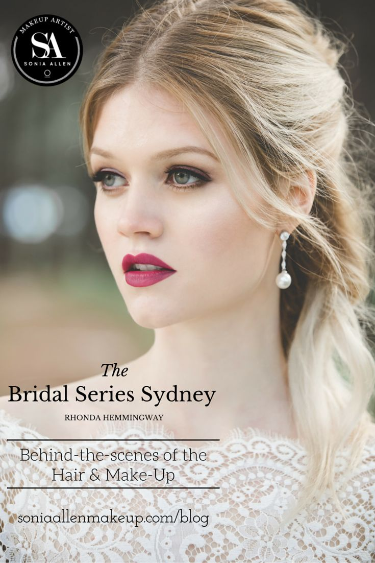 THE BRIDAL SERIES SYDNEY (RHONDA HEMMINGWAY): THE HAIR AND MAKEUP BY SONIA ALLEN (Wedding Collection: Mar 2016) A look at the products used by @soniaallenmua and the inspiration behind the wedding hair and makeup for this editorial in The Bridal Series Sydney. http://soniaallenmakeup.com/blog/rhonda-hemmingway-the-hair-and-makeup-by-sonia-allen/