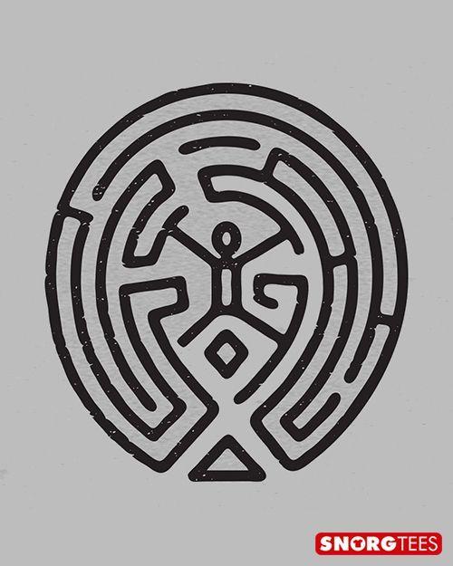 """The Maze"" grey t-shirt. #westworld:"