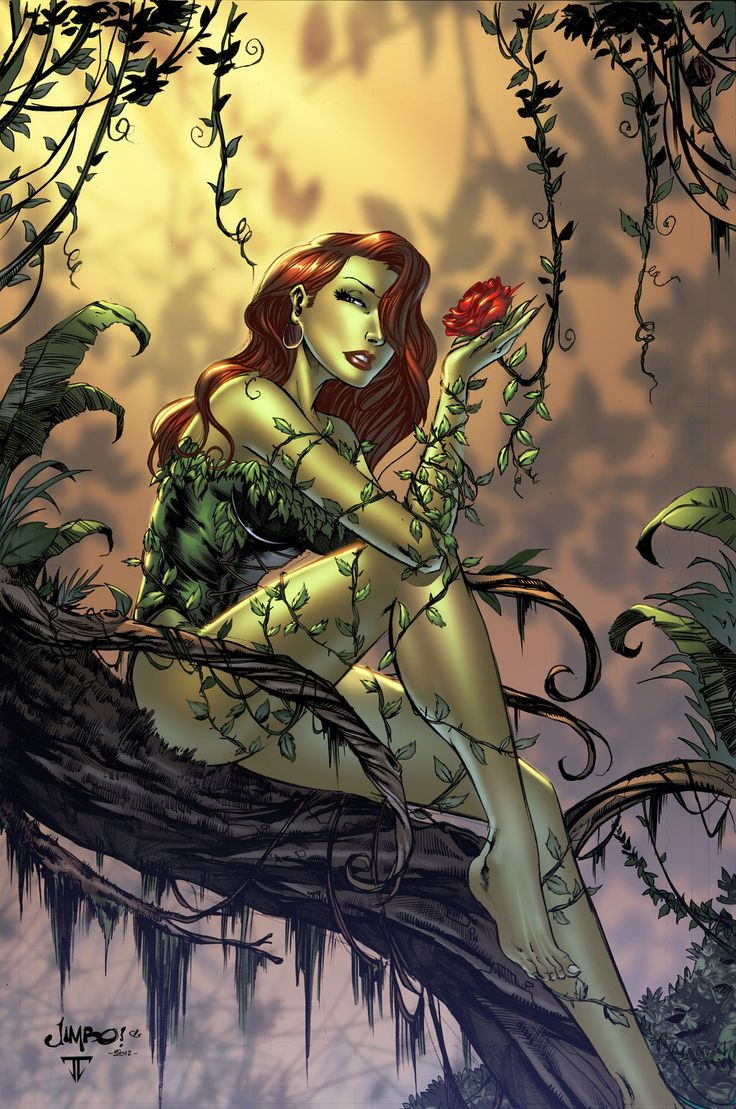 Poison Ivy... Fascinating character, too often mishandled. Her appearance as a Bird of Prey was great, and her appearance in the Batgirl annual in which seasonal effectiveness disorder takes on a whole new meaning was awesome.