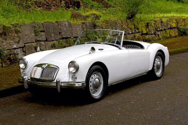 MGA.... Difficult to choose between this and the Austin Healey!