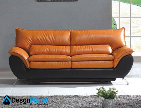 Best 25 Orange Leather Sofas Ideas On Pinterest Orange Living Room Sofas Brown Sofa Decor