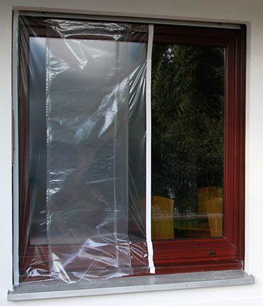 ZITRA ®-FOL, Malerfolie, Malerplane für Fenster, Holzfenster streichen