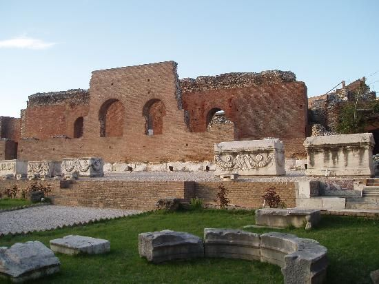 the roman odeum of patras
