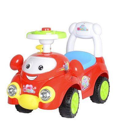 red speedy push car zulily zulilyfinds