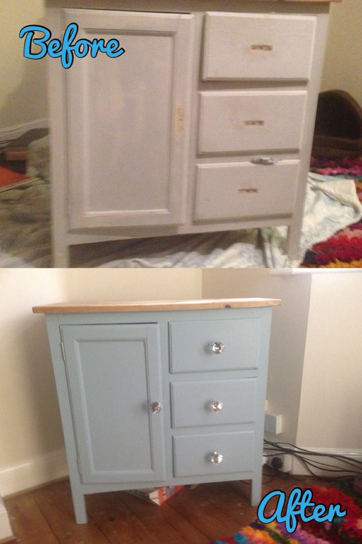 Cabinet with Craig and Rose paint