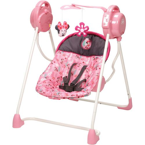 Too Cute!!   Disney Sway 'n Play Swing, Sweet Minnie