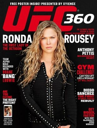 Latest Cover Shoot on UFC 360 Including a surprise poster inside, get your copy in stores now! #armbarnation