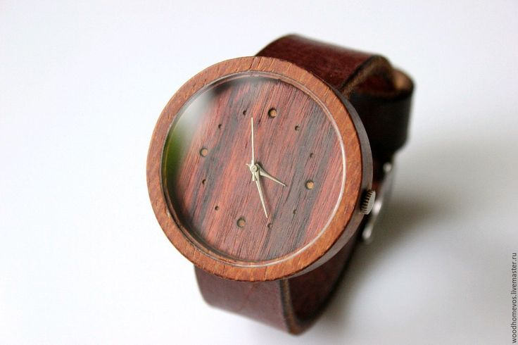 Купить Наручные часы из дерева (эбен) - часы, часы ручной работы, часы в подарок