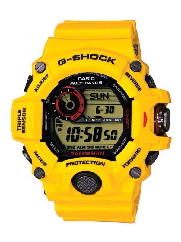 e8b2134e1c8 G Shock Rangeman 30th Anniversary Lightning Yellow
