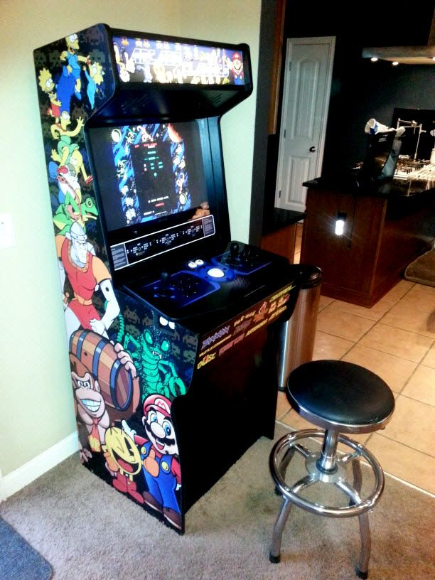 Classic Arcade Cabinet For Sale By Arcadecabinet Net Call