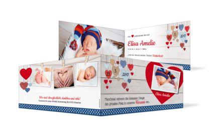 Geburtskarte Elisa
