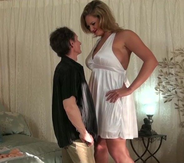 Have Tall women domination of short husbands was specially
