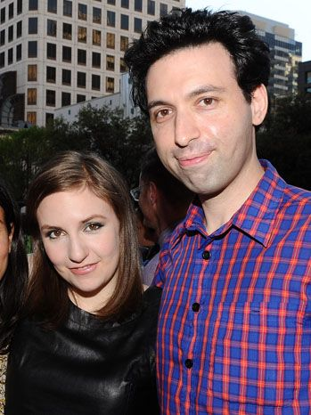 Lena Dunham Alex Karpovsky - Two of the coolest people in show biz right now- so wish I could have gone to SXSW!