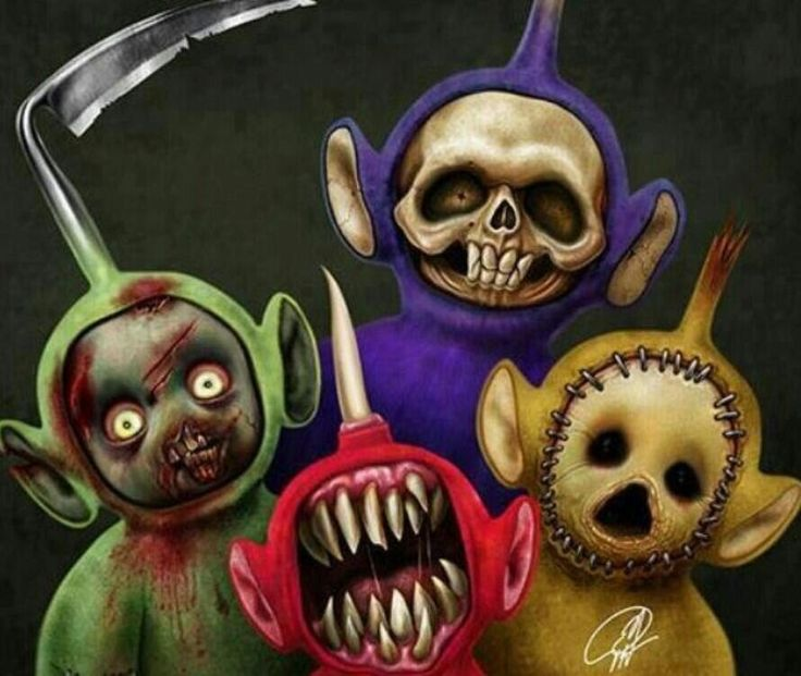 Terrortubbies.