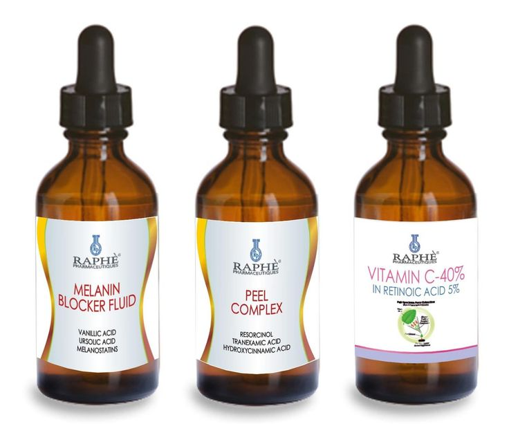 Melanin Blocker 60ml Professional Peel Complex 60ml and Vitamin C-40% in Ret. 5% Super Whitening and Anti Aging Complex/ Supreme Depigmenting Serum That Helps Prevents Melanin Synthesis and Repigmentation. Contain Resorcinol Monoacetate, Tranexamic Acid and N-acetyl Cysteine As Active Inhibitor of Repigmentation Process, Plus Emergency Whitening Peel Complex 60ml and Vitamin c-40% in Retinoic Acid 60ml >>> Wow! I love this. Check it out now! : Eye Care