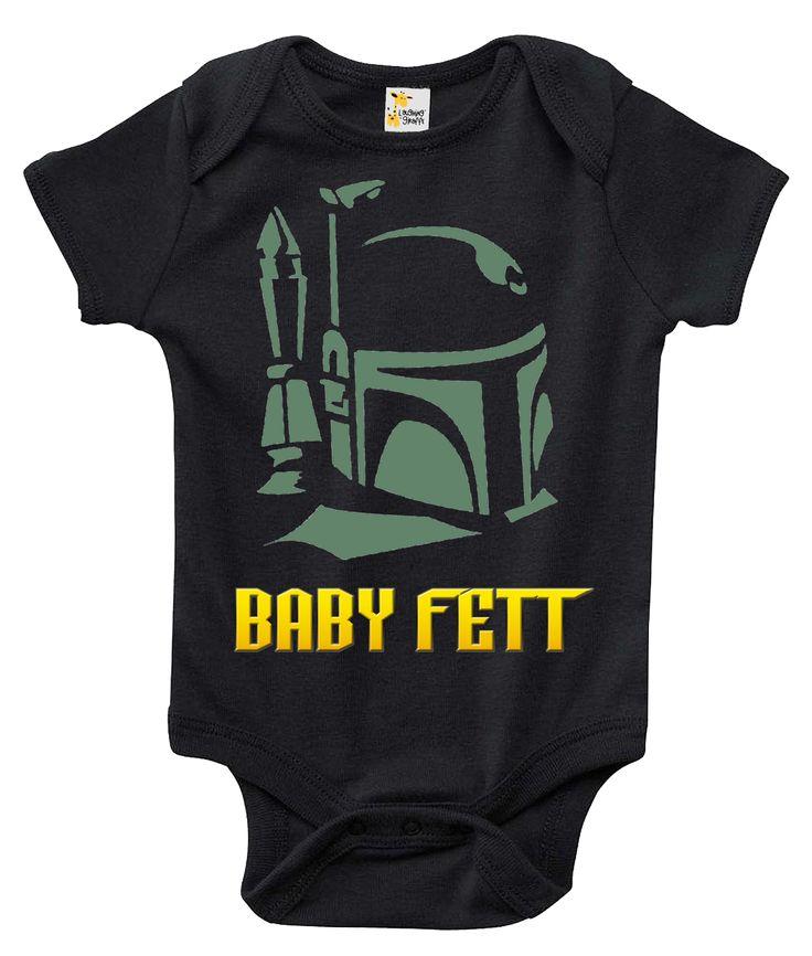 Baby Bodysuit - Baby Fett Star Wars Themed Baby Clothes
