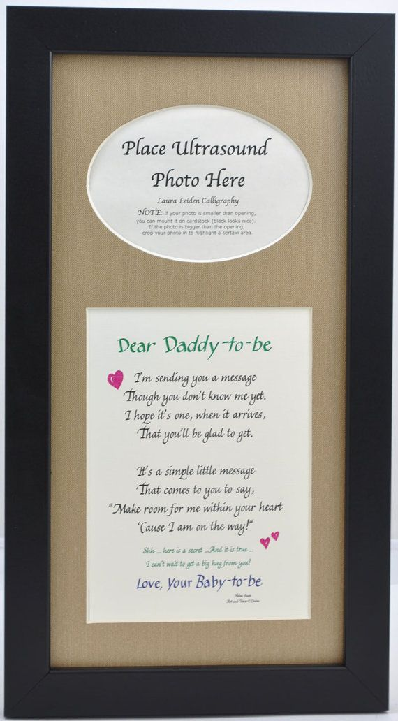 Hey, I found this really awesome Etsy listing at https://www.etsy.com/listing/212287154/7x14-daddy-to-be-ultrasound-frame-dad