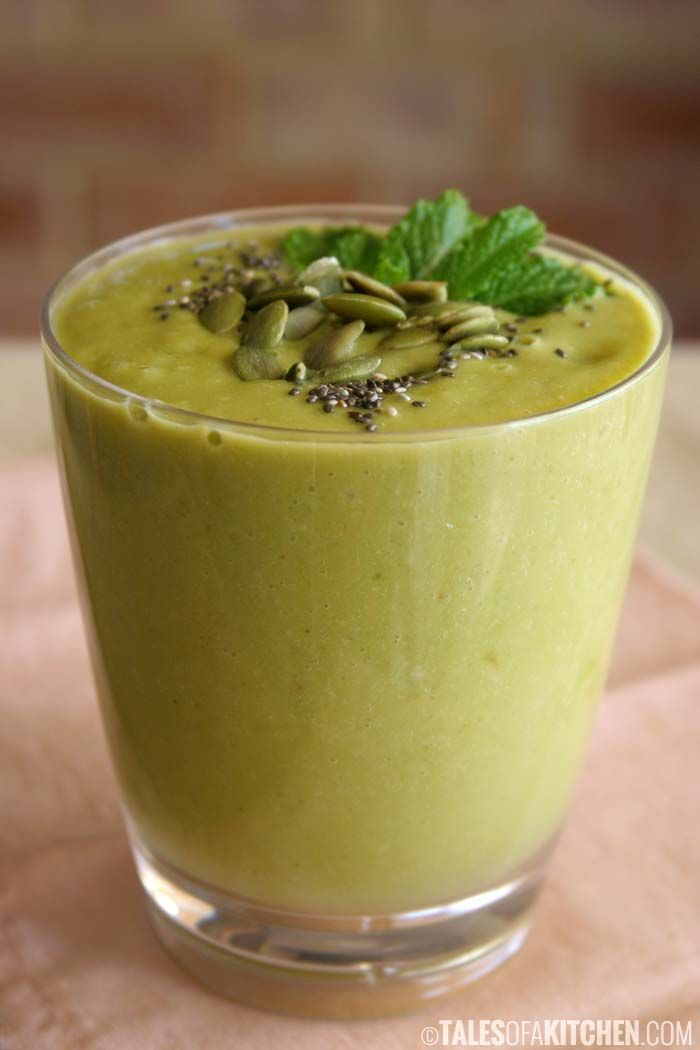 Lettuce be healthy breakfast smoothie