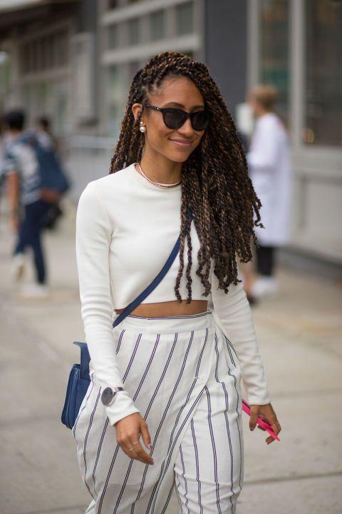 Best New York Fashion Week Street Style Spring 2016 - NYFW Street Style
