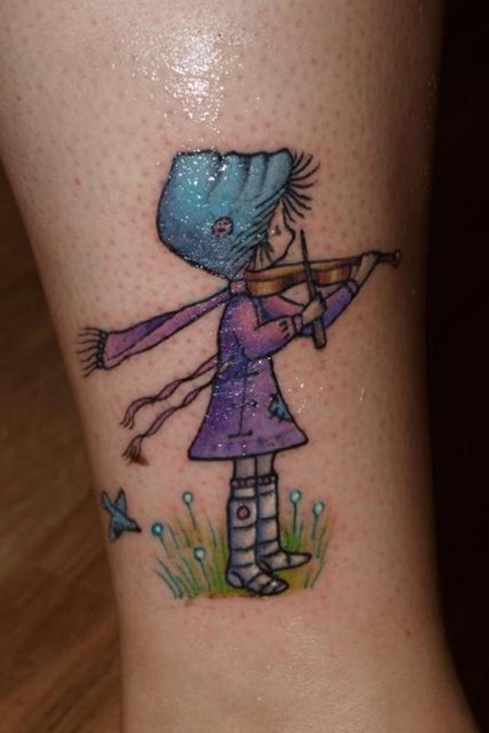 cute-little-girl-playing-violin-tattoo-idea