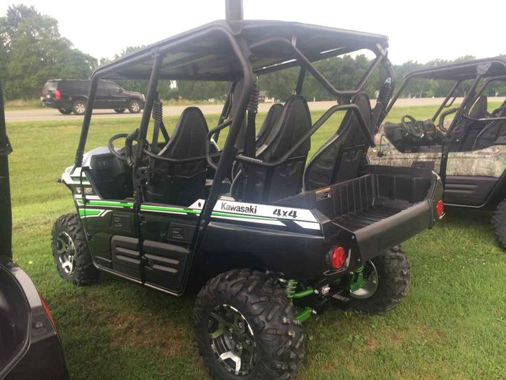 "New 2017 Kawasaki TERYX4 LE WHITE KRT800GHF ATVs For Sale in Illinois. 2017 KAWASAKI TERYX4 LE WHITE KRT800GHF, Contact our Sales Department today , or Toll Free , or view our entire inventory , Street & Off-road Motorcycles, TERYX, Mule and Mule Pro Side-by-Sides, and Jet Ski Watercraft. If you don't see it listed, give us a call and we will get you your low ""Out-The-Door"" price! Come see why the Teryx line of side by sides is the fastest growing lineup on the market!"