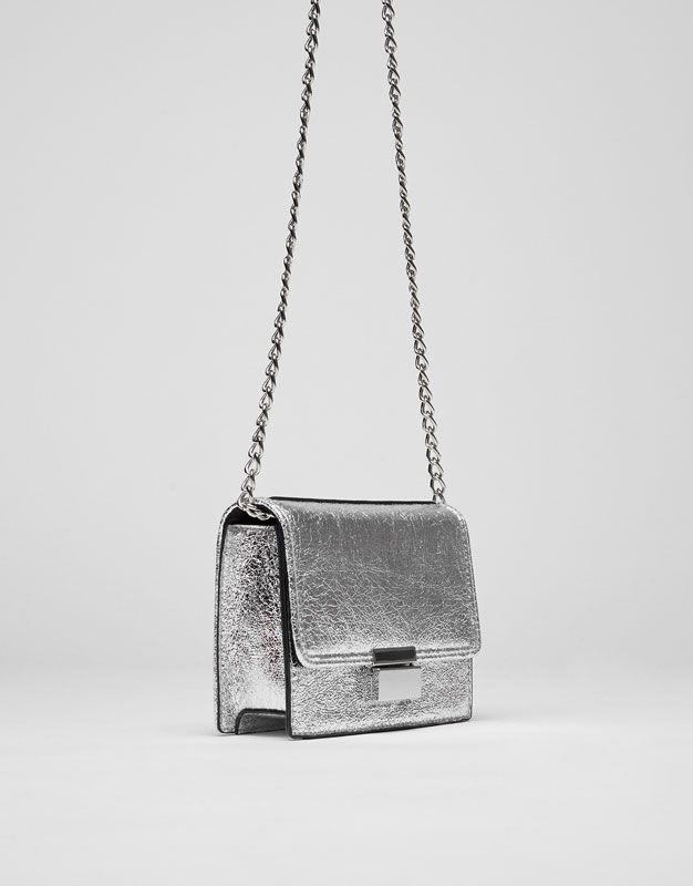 Mini crossbody bag with clasp - Bags - Accessories - Woman - PULL&BEAR United Kingdom