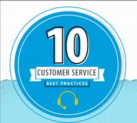 Hi, everyone. Today's modern customer is changing the world of customer service. They're using more channels of communication, making informed decisions and are quick to make demands. How can your organization keep up? Check out this infographic of 10 customer service best practices. #business #organization #customerservice #RBVconsultoria
