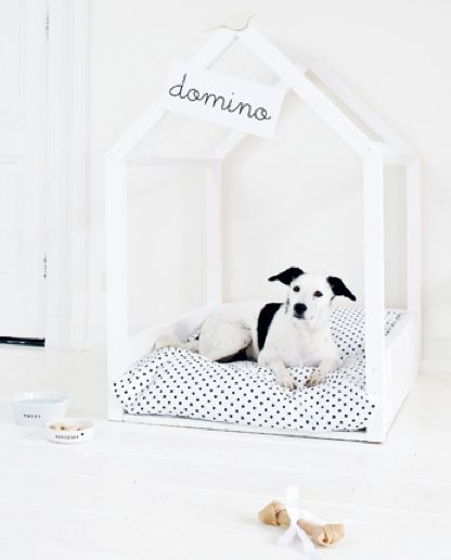 DIY dog house. Wish I had a dog!Dogs Beds, Ideas, Indoor Dog House, Doggie Beds, Dogs House, Pets, Dog Houses, Dog Beds, Diy Dogs