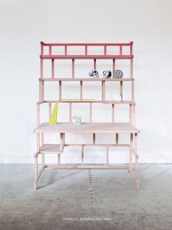 Collapsible Desk by Andréason & Leibal - Design Milk
