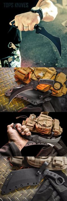 TOPS Knives TAC-TOPS Karambit Fixed Knife Blade TAC-01