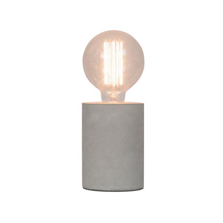 Home Design 13cm Tocco Concrete Lamp Base