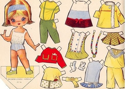 ..* For lots of free Christmas paper dolls International Paper Doll Society… Más