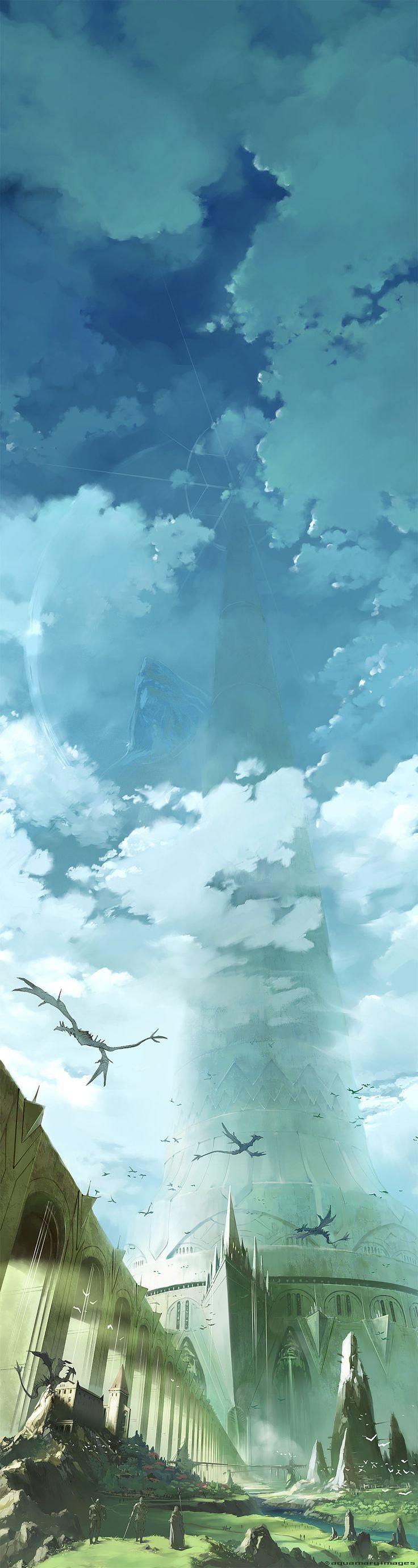 Just a panoramic fantasy photo. - Imgur