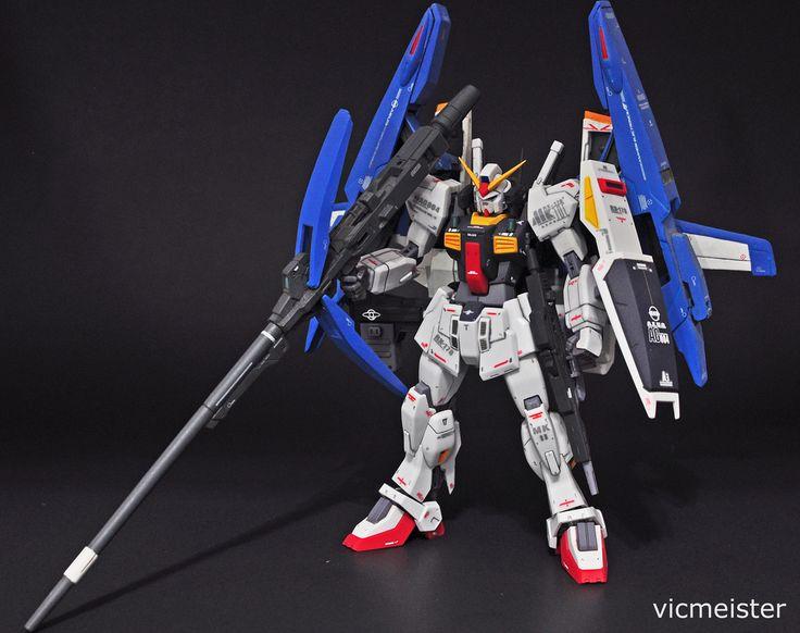 Robot Spirits RX178 Gundam MkII x GFF GDefenser