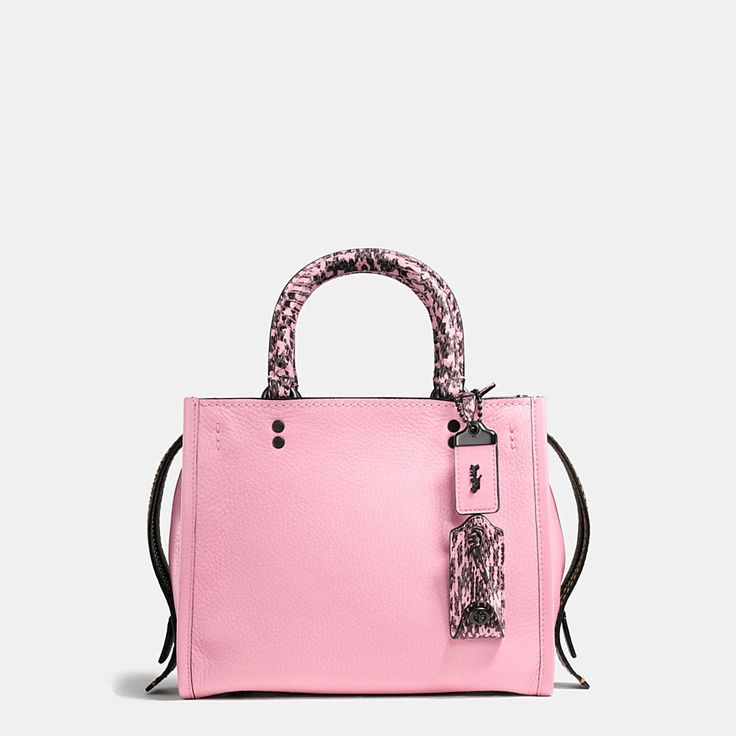 Philippe Model Shoulder Bag for Women On Sale, Pink, Leather, 2017, one size