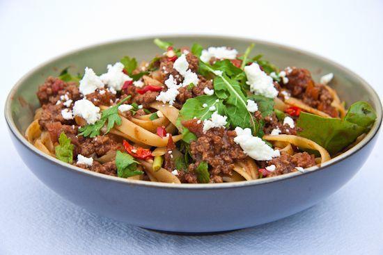 Summery Spaghetti BologneseSimply Delicious, Summery Spaghetti, Food Galore, Food Pasta, Italian Recipe, Eating, Delicious Recipe, Food Maine Courses, Spaghetti Bolognaise