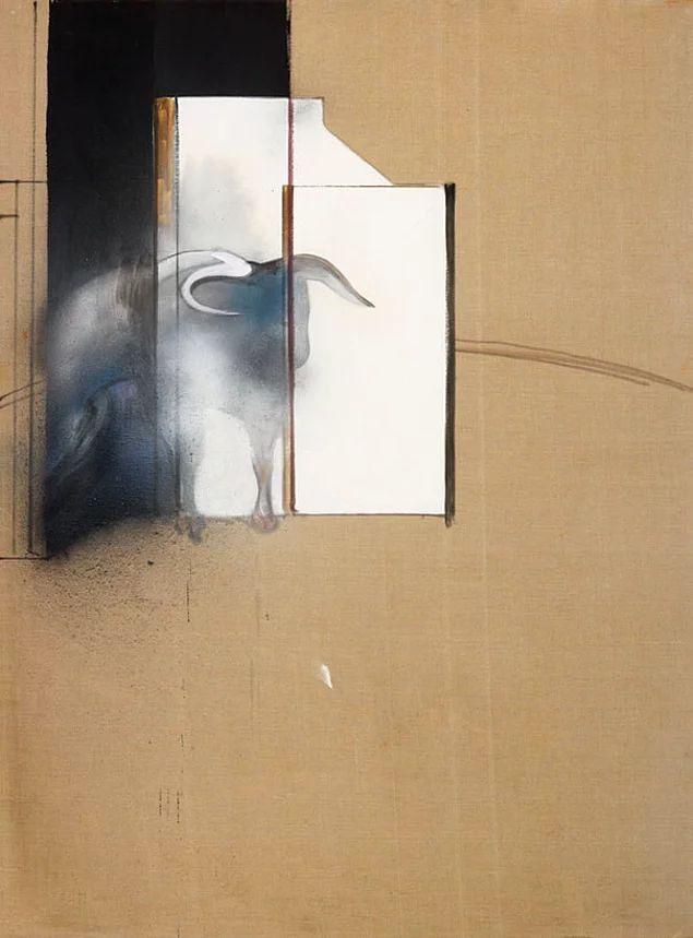 Фрэнсис Бэкон. Эскиз быка. 1991