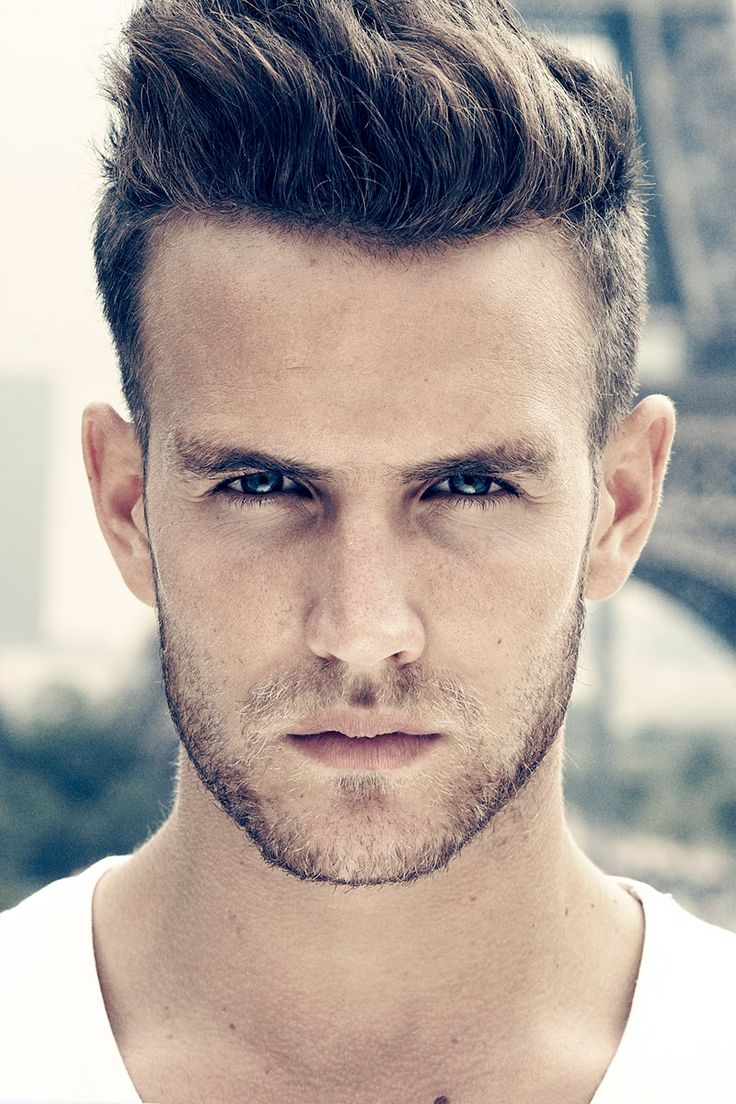Mens haircuts denver aurelien febvay by tom chapelin  male models  pinterest  toms and