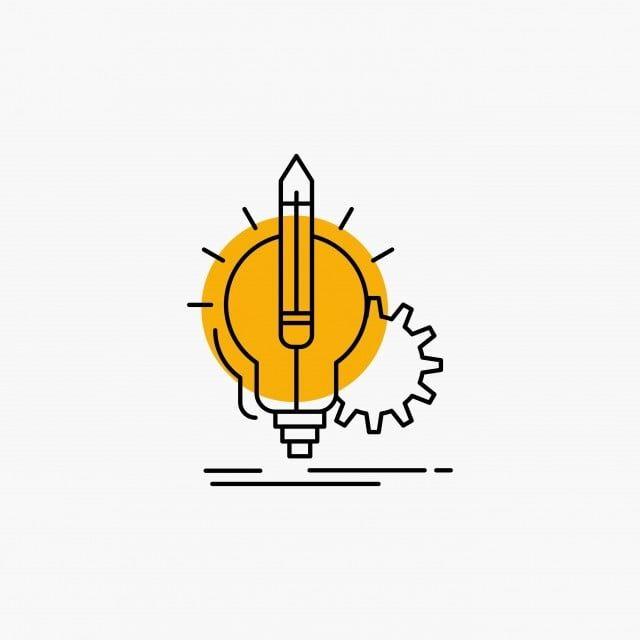 Idea Icons Insight Lamp Lightbulb Line Icon 3d 3d Rendering Background Brain Brainstorming Bright Busine In 2020 Text Logo Design Blue Logo Design Logo Design Creative