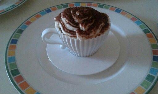 Cupcake al Tiramisù in tazza