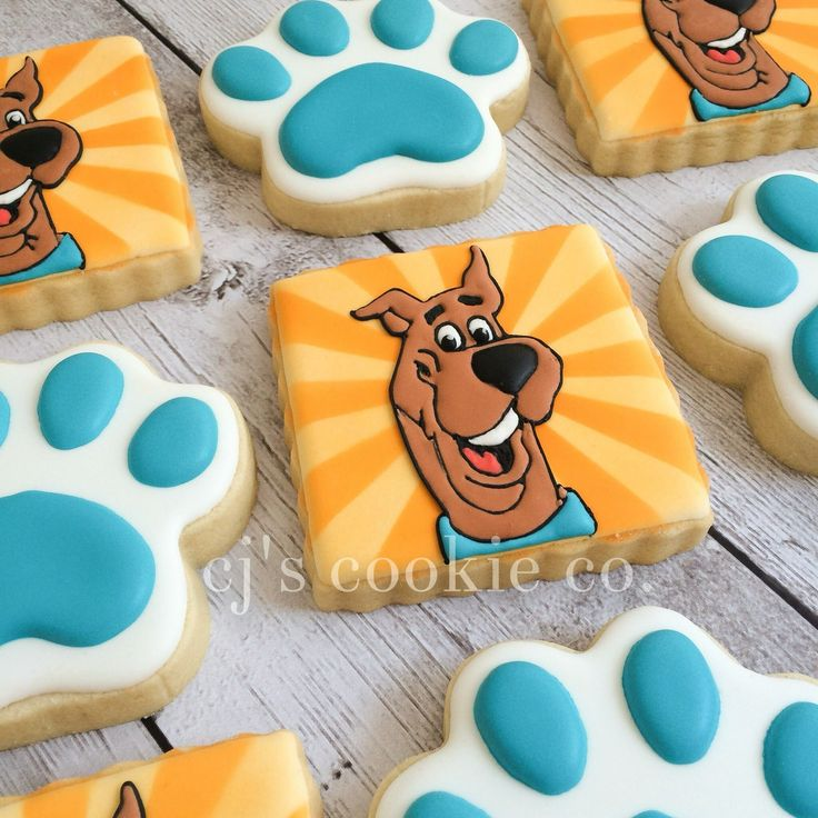 131 best Scooby Doo Cookies Cakes Food Ideas images on