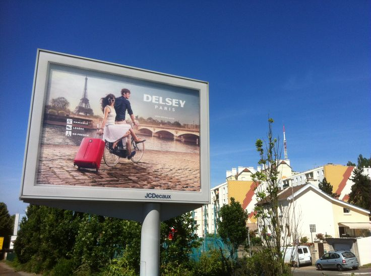 Delsey 2014 Ad Campaign France Advertising Suitcase Paris Delsey Ad Campaign France