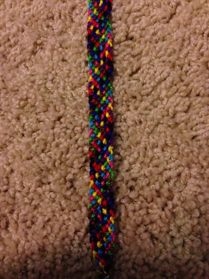 Rag Rug bracelet! Please contact me to purchase/ order!   Kik: Horsegirl_22 Email: abby.hauser.22@gmail.com