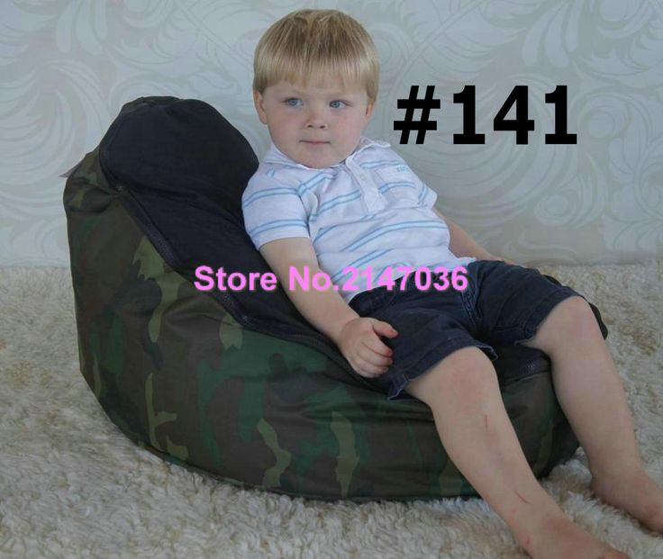 ==> [Free Shipping] Buy Best Waterproof Camouflage Military design Traditional beanbag good quality baby bean bag kids beanbag sofa chair Online with LOWEST Price | 32653035662