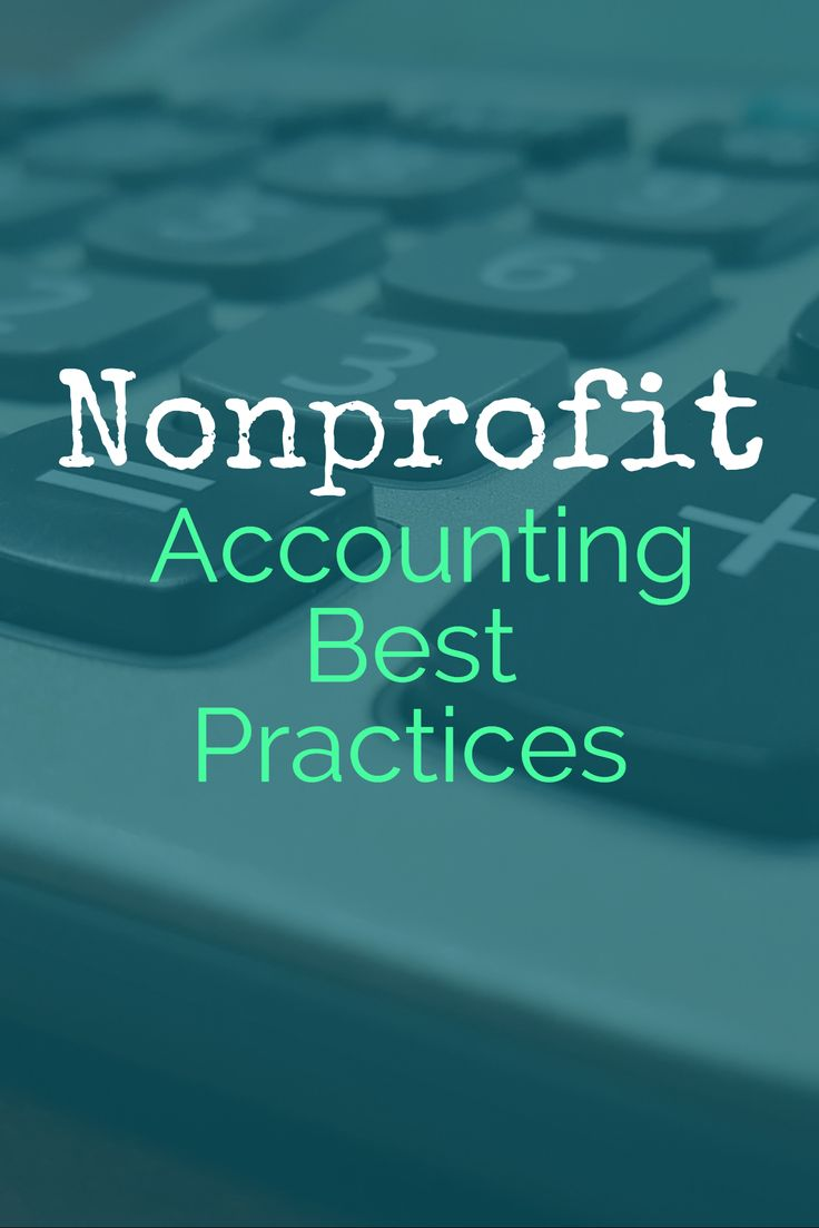 Nonprofit Accounting Best Practices - 501c3 Accounting