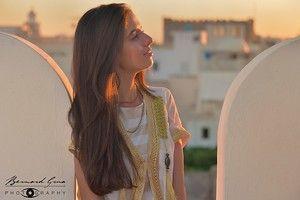 Lumière d'or sur les toits de la médina. #orientalism, #sunset, #Mahdia