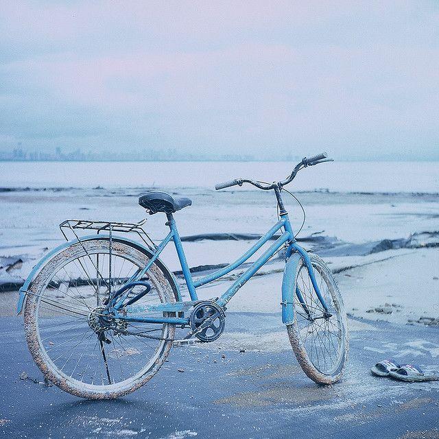 Blue Bike...