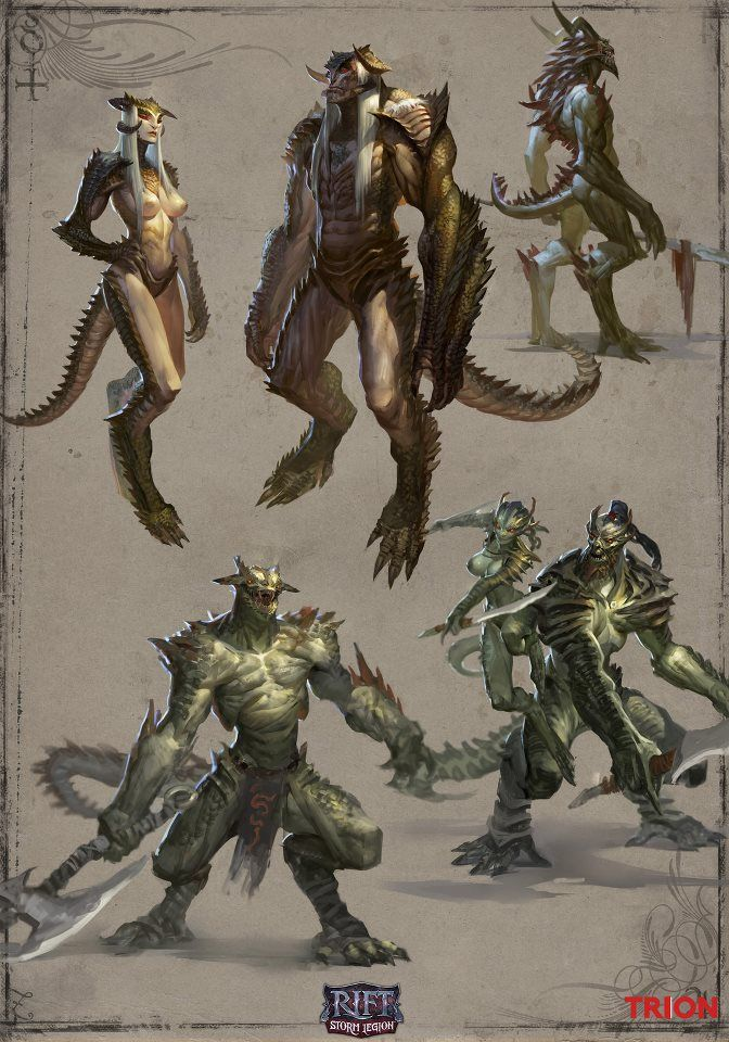 Reptile People. For some reason people love this image, and I have to say, so do I.