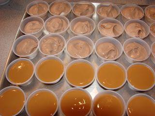 Buttery Nipple Pudding Shots