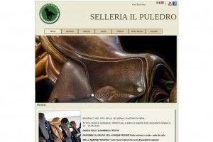 Selleria Il Puledro www.selleriailpuledro.it Realizzazione siti web professionali, progetti e-commerce, web marketing e gestione social